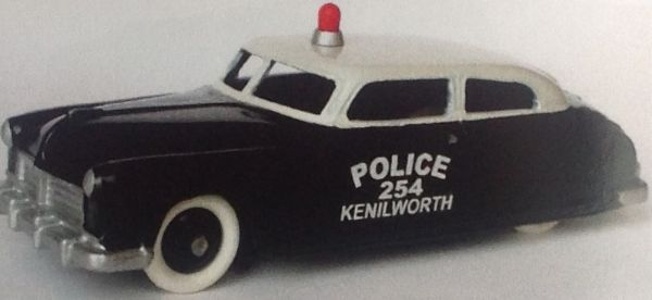 CLUB DINKY FRANCE MODEL No. CDF46 HUDSON POLICE